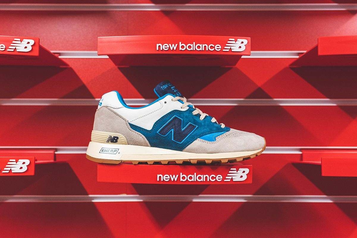 The Hanon x New Balance 577 Is an Ode to Made-in-UK Quality 1