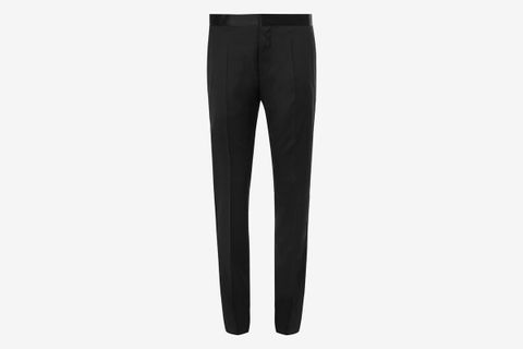 Gilan Slim-Fit Super 120s Virgin Wool Tuxedo Trousers
