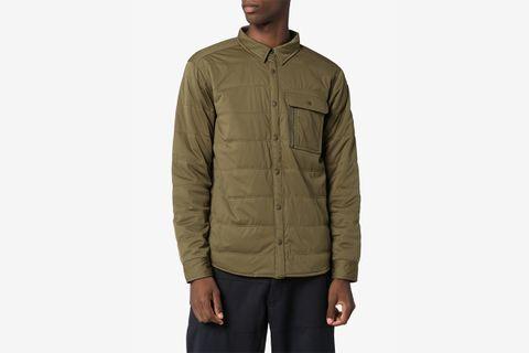 Collared Shirt Jacket
