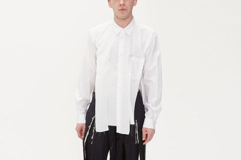Broadcloth Shred Shirt