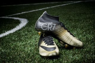 "0139b79cbf5e Nike Unveils Diamond-Studded Mercurial CR7 ""Rare Gold"" Boots"