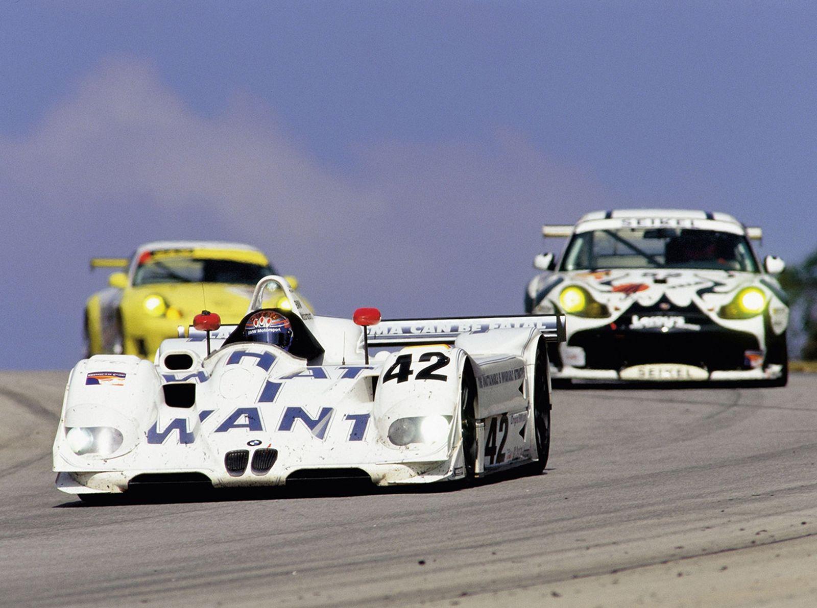 BMW Art Car 15, Jenny Holzer, 1999