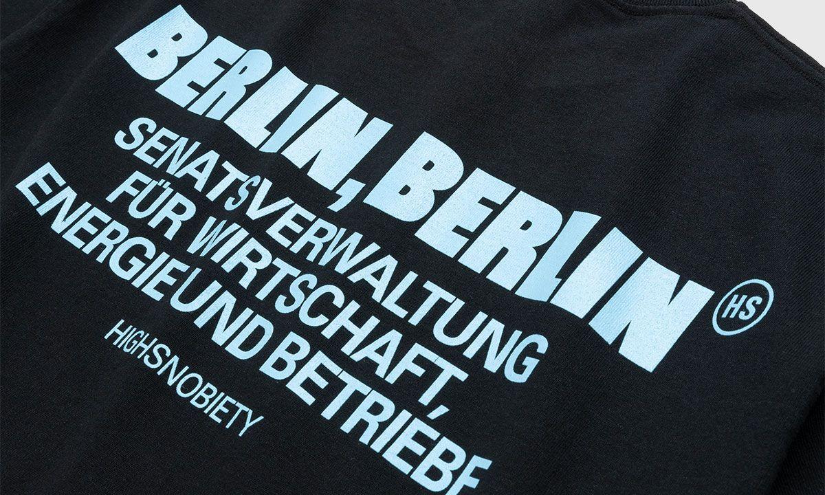 Get this Highsnobiety BERLIN, BERLIN T-shirt Delivered to Your Door In Under 10 Minutes