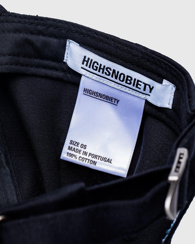 Highsnobiety — Not In Paris 3 x Galerie Perrotin Cap Black - Image 4