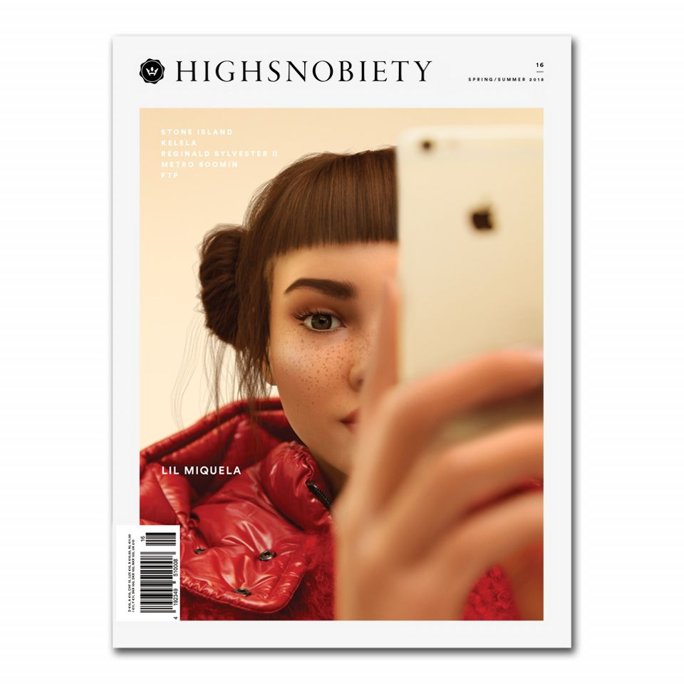 Lil Miquela: the AI Star on the Cover of Highsnobiety Issue 16