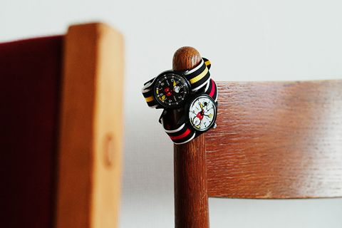 mickey mouse disney beams watch timex