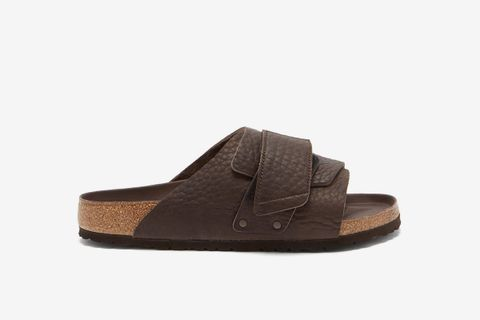 Kyoto Grained Leather Sandals