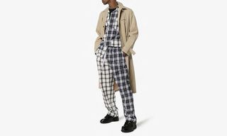 This Liam Hodges Pajama Set Is Patchwork Perfection