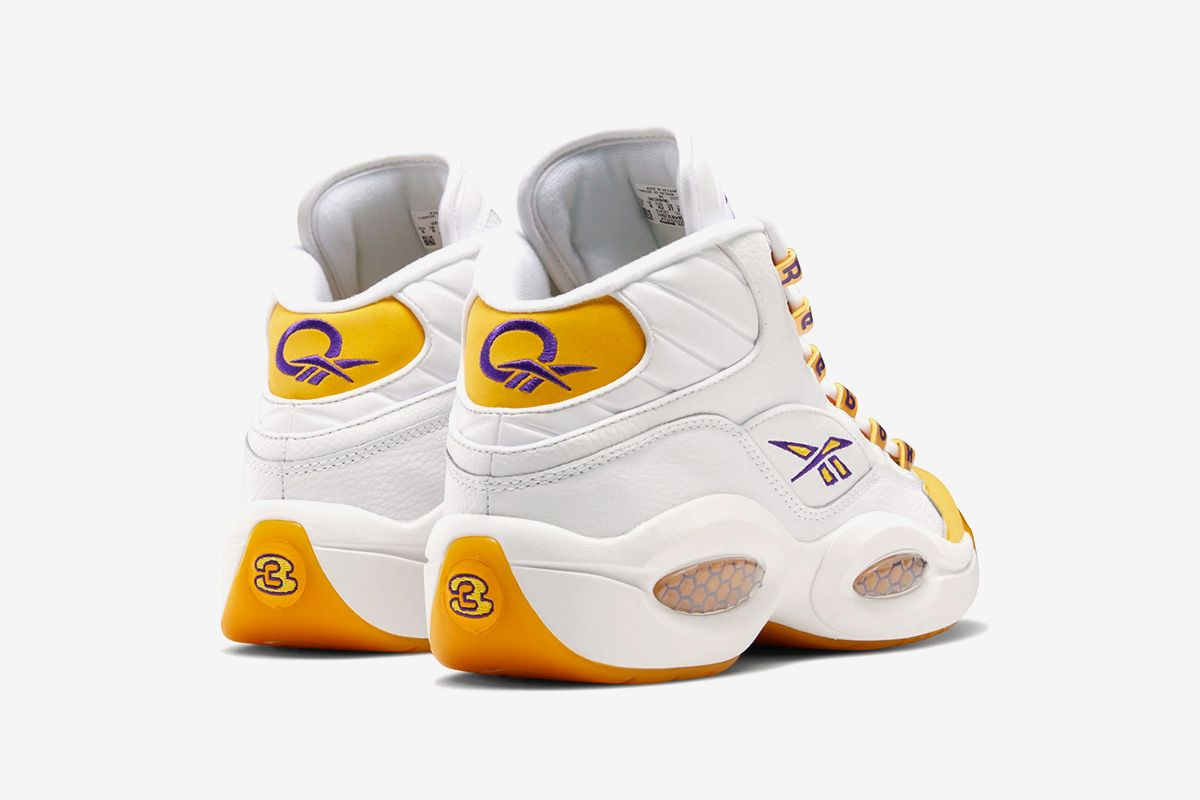 """Reebok's Kobe-Approved Question Mid """"Yellow Toe"""" Returns This Week 12"""