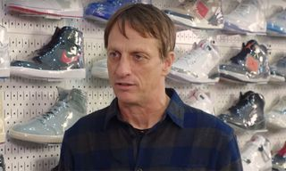 Tony Hawk Talks Skating in Jordans & Why Supreme Matters on 'Sneaker Shopping'