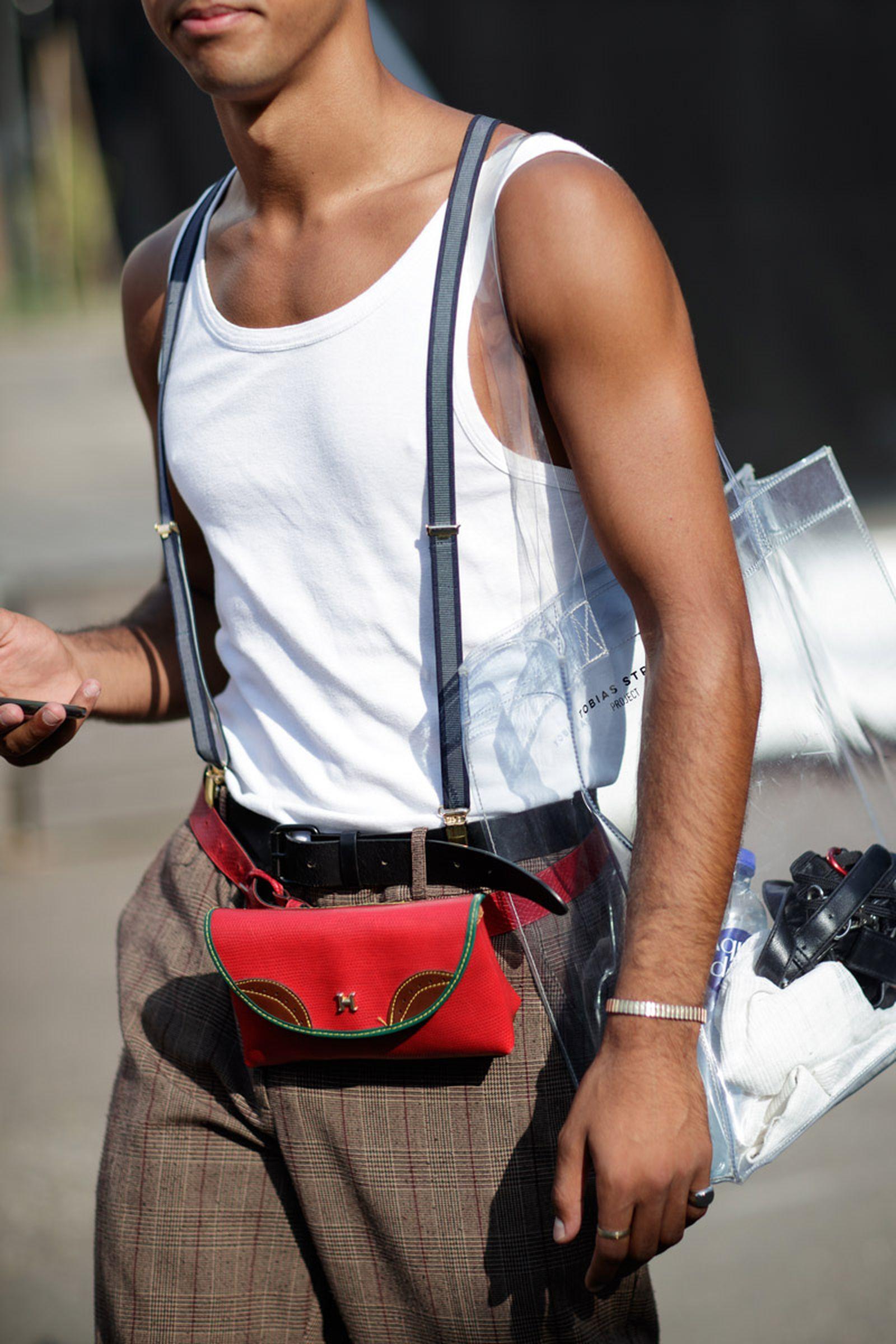 copenhagen street style bags2 Copenhagen Fashion Week Nike Supreme