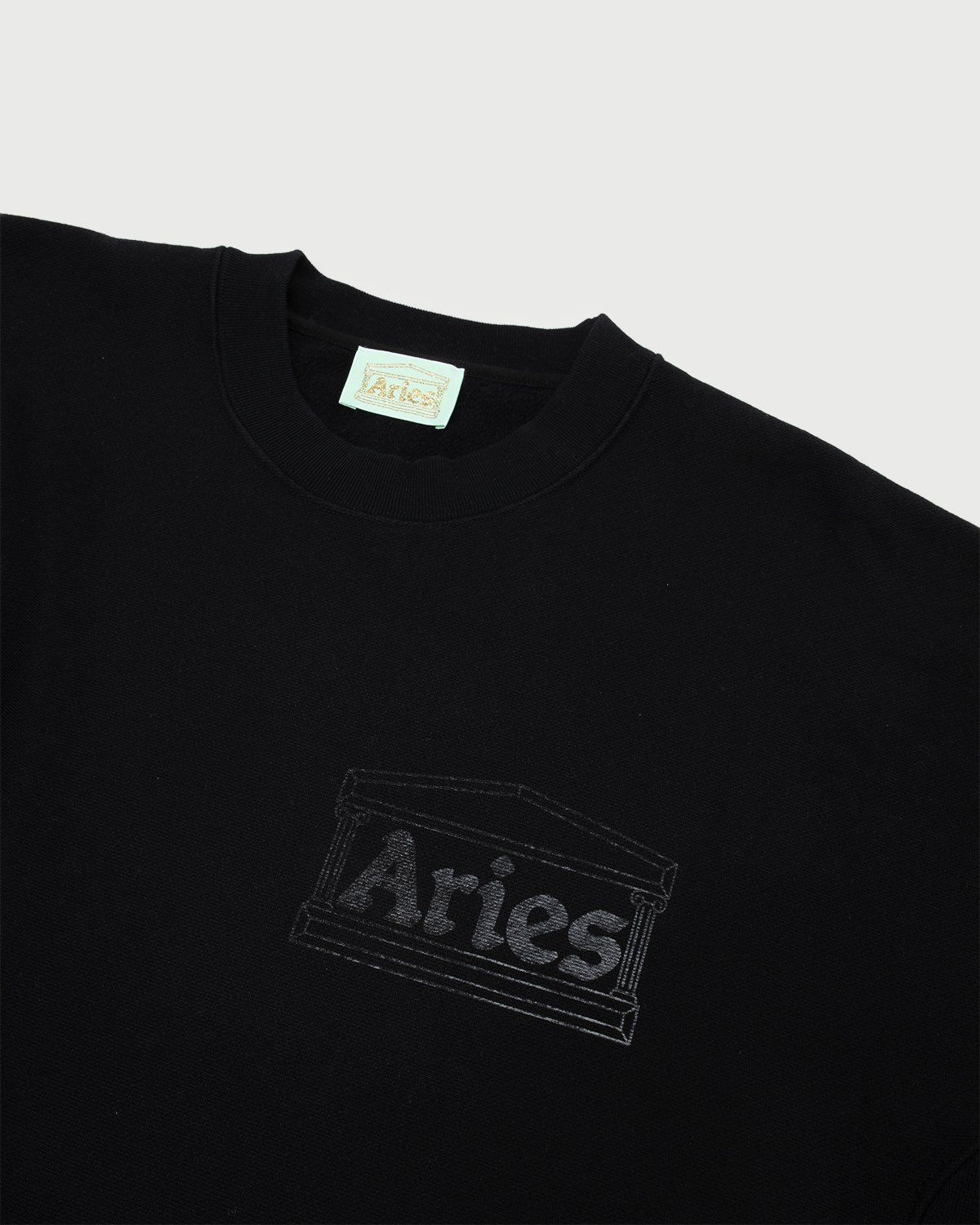 Aries - Premium Temple Sweatshirt Black - Image 2