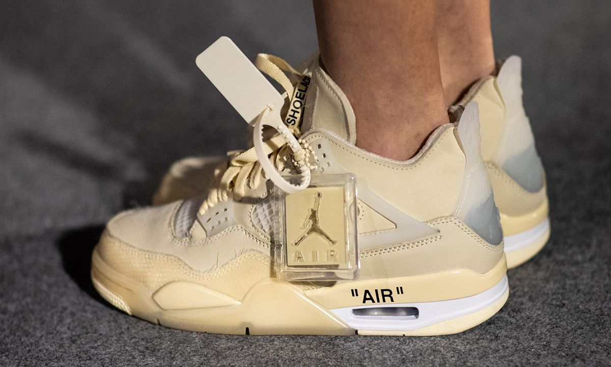 air jordan 5 off white cream