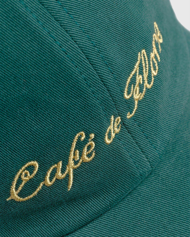 Highsnobiety — Not In Paris 3 x Café De Flore Cap Green - Image 5