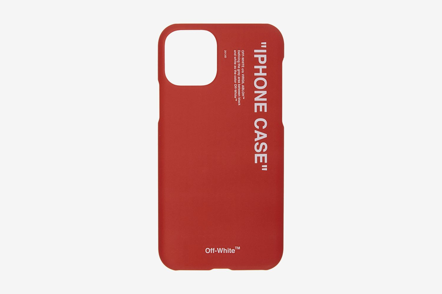 SSENSE Exclusive Quote iPhone 11 Pro Case