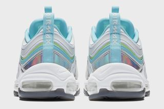 4272129a11 Nike. Previous Next. Brand: Nike. Model: Air Max 97. Key Features: The iridescent  silver mudguards, of course! Release Date: February