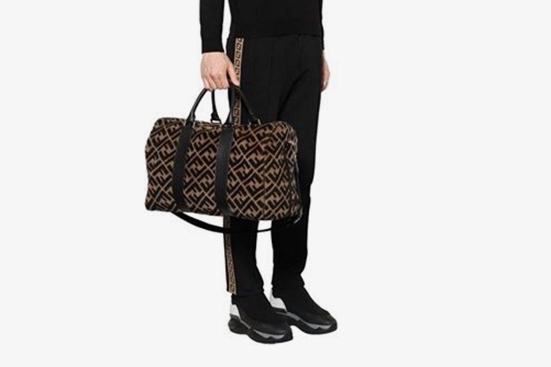Fur Duffle Bag