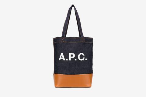 Axelle Logo Tote Bag