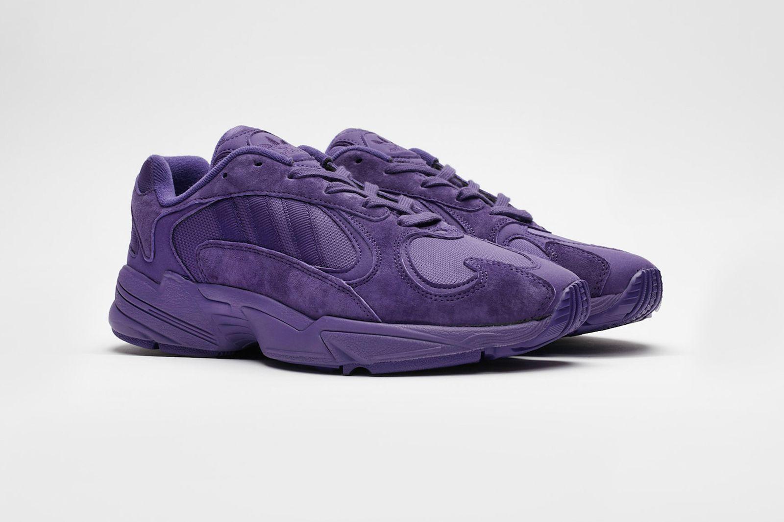 sneakersnstuff adidas originals yung 1 grey and unity purple release date price info adidas Originals Yung-1