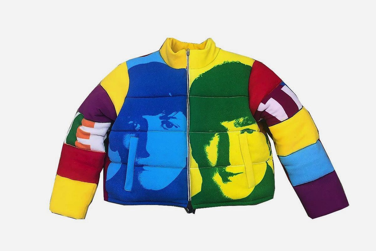 Beatles Puffer Jacket
