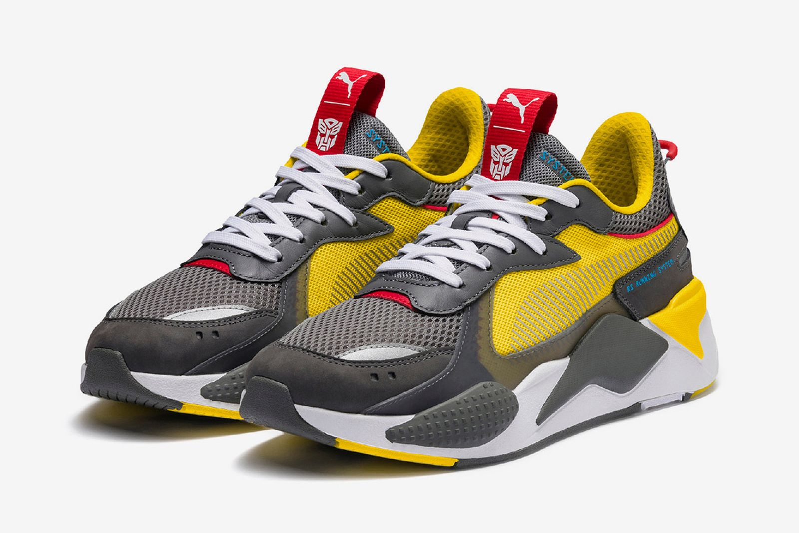 """Hasbro x PUMA RS-X """"Transformers Pack"""": Official Release Info"""