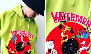 Hiroomi Tosaka Shows Off Vetements' Insane AR Hoodie