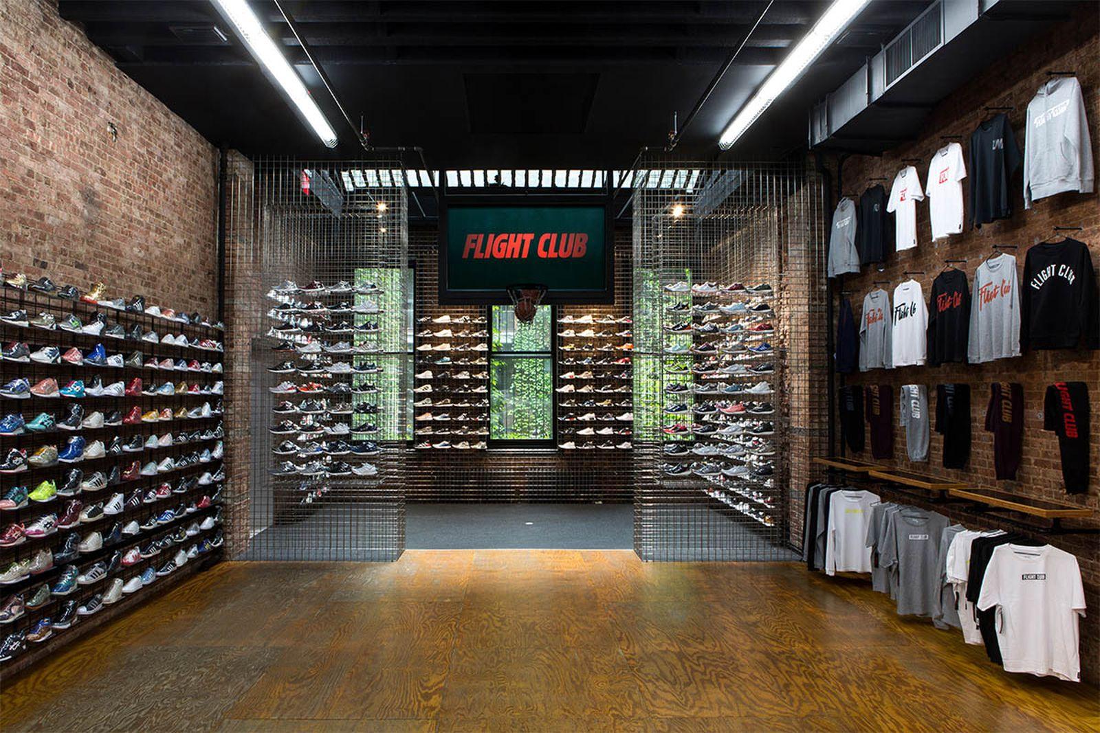 best new york sneaker stores flight club AMEX american express platinum