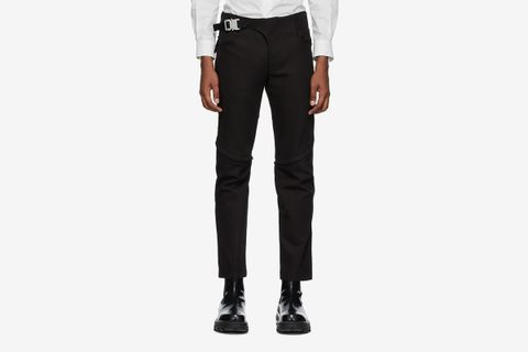 Crescent Zip Trousers