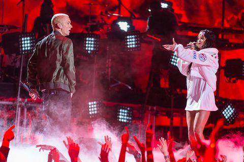 Eminem and Rihanna perform 2014 MTV movie awards