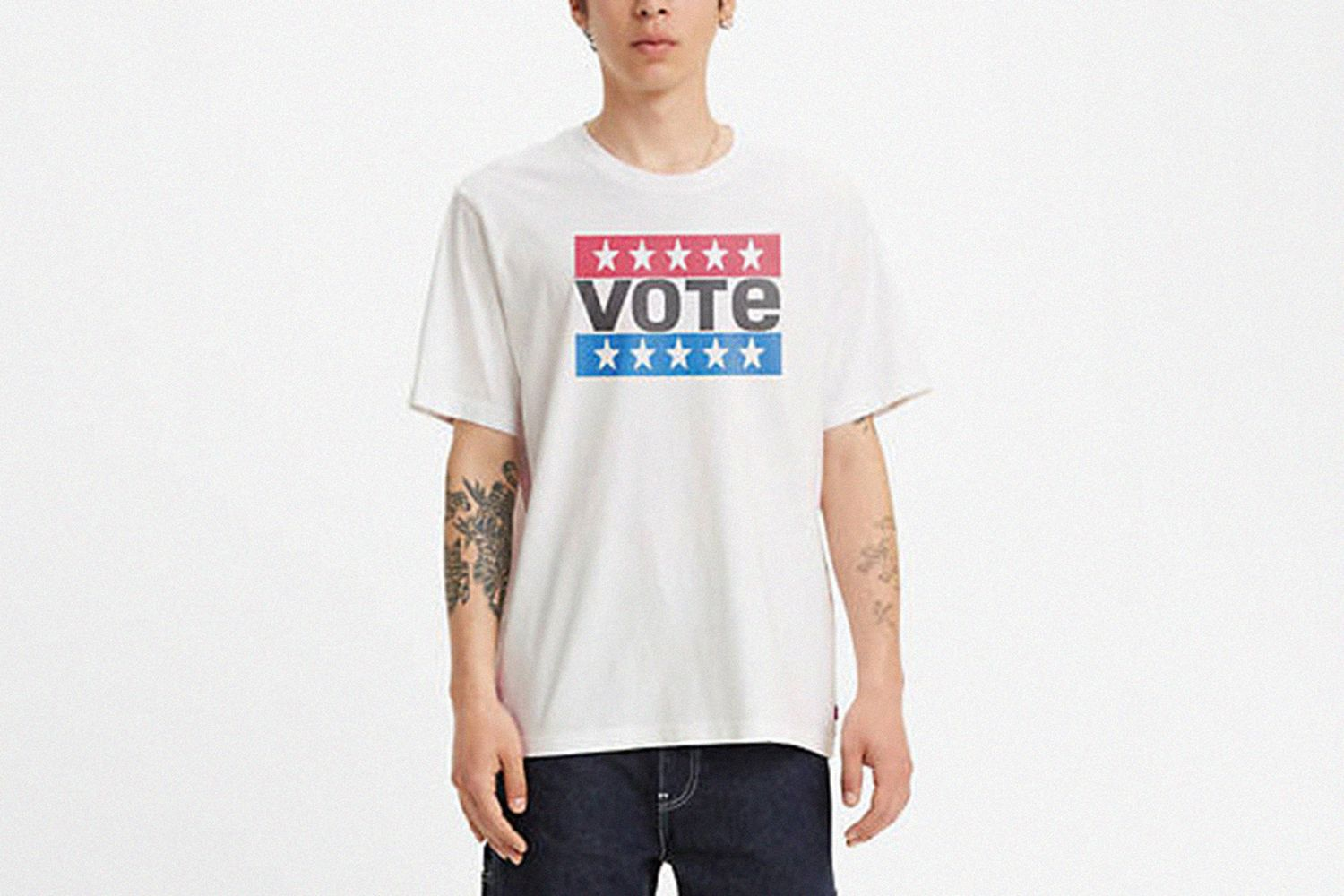 Vote Relaxed Fit Tee Shirt
