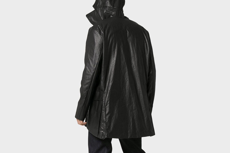 Wax Hooded Coat