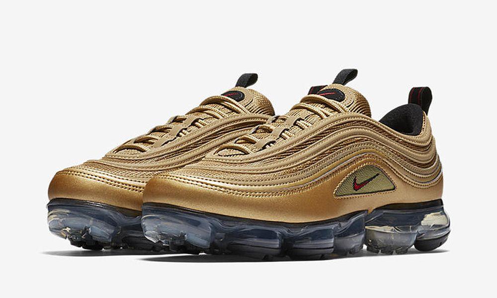 "Nike Air VaporMax 97 ""Metallic Gold"": Release Date, Price & More"