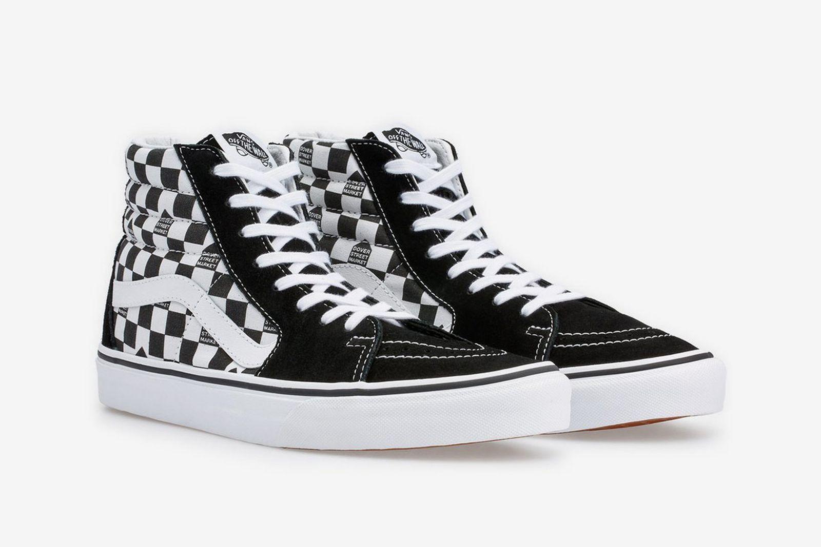 dover street market vans checkerboard pack release date price
