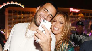 Jennifer Lopez Celebrates Her Birthday With A Lavish Party At The Nobu Villa Atop Nobu Hotel at Caesars Palace french montana