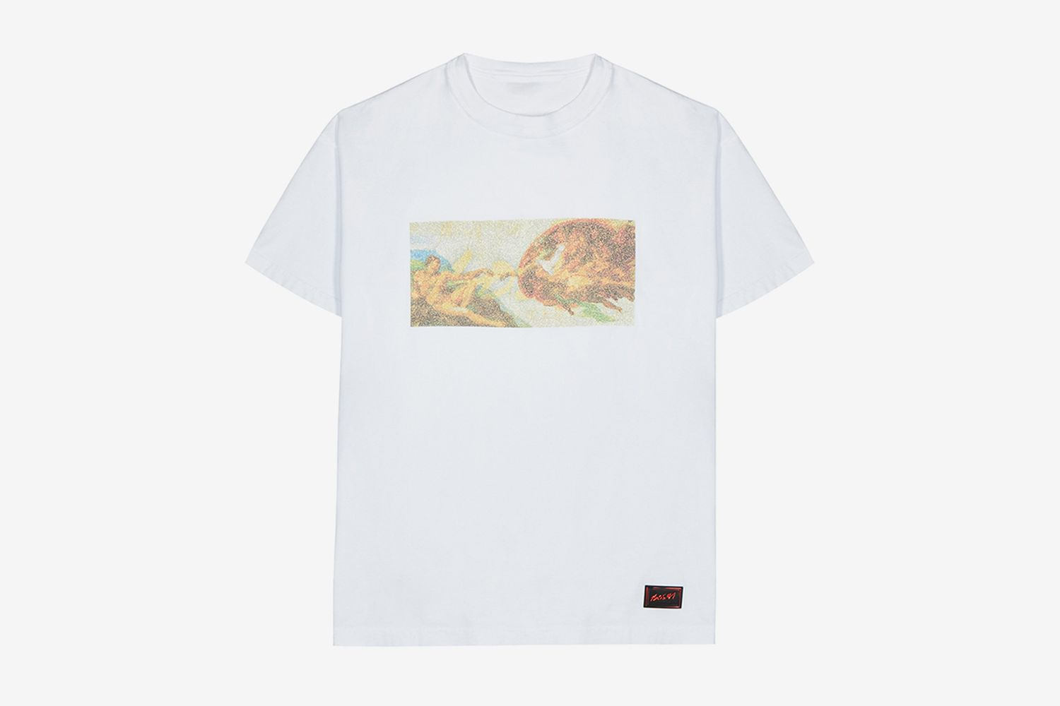 Adamo Printed Reversible Cotton T-Shirt