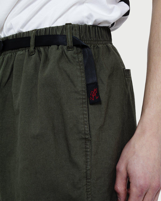 Gramicci — Linen Cotton G-Shorts Olive - Image 2
