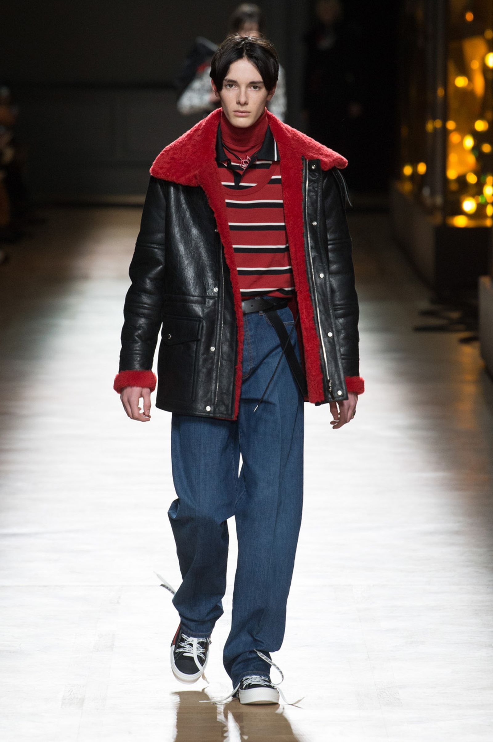 DIOR HOMME WINTER 18 19 BY PATRICE STABLE look19 Fall/WInter 2018 runway