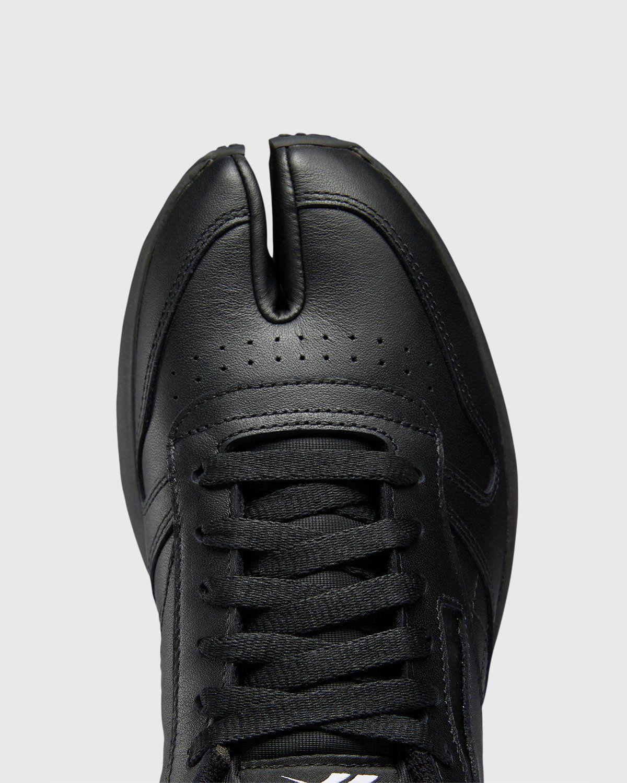 Maison Margiela x Reebok — Classic Leather Tabi Black - Image 4