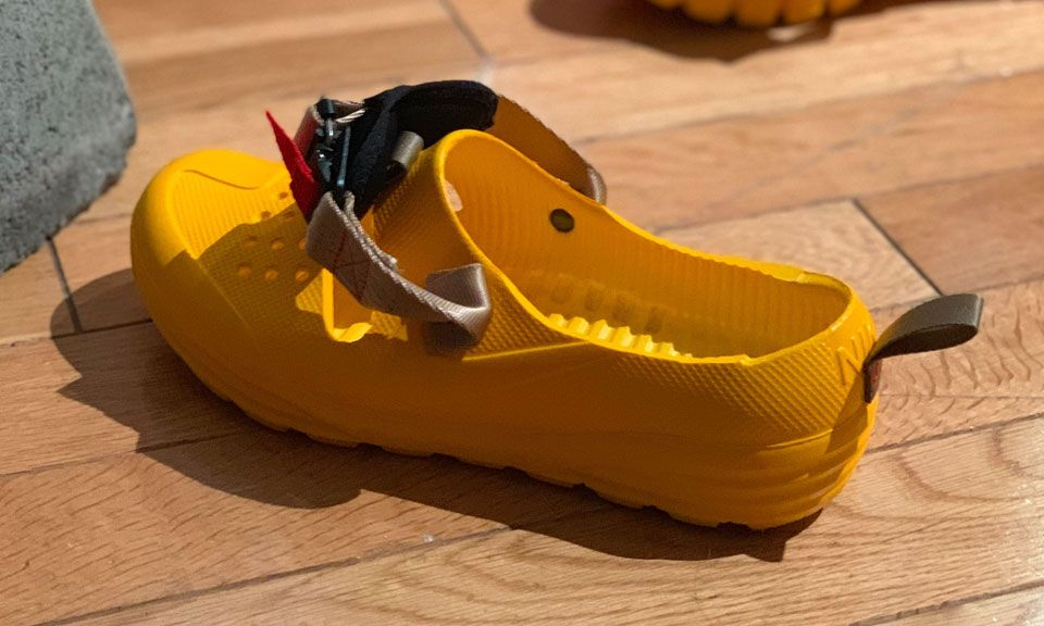 c25d2f7dd Tom Sachs Latest Nike Shoe Looks Like a Techwear Croc