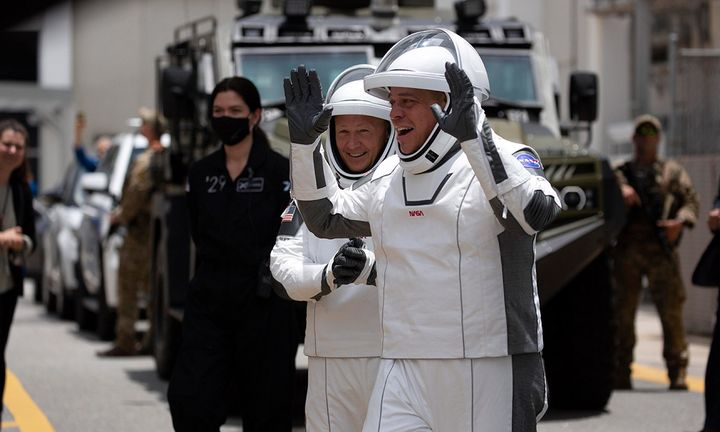 SpaceX space suits