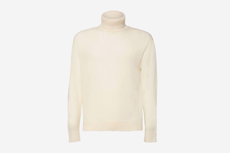 Fine Wool Turtleneck Sweater