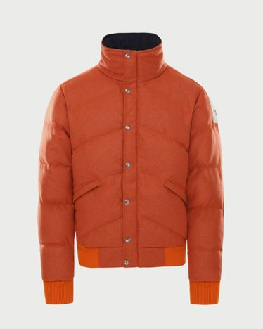 The North Face Brown Label - Larkspur Wool Down Jacket Heritage Orange Men