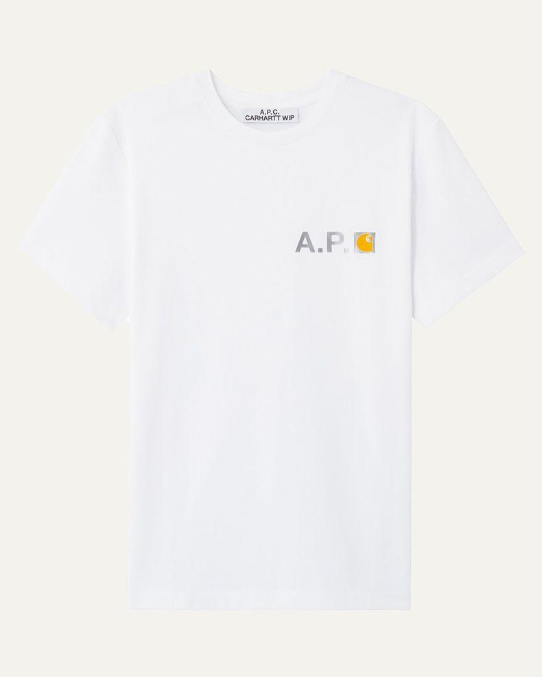 A.P.C. x Carhartt WIP - Fire T-Shirt White