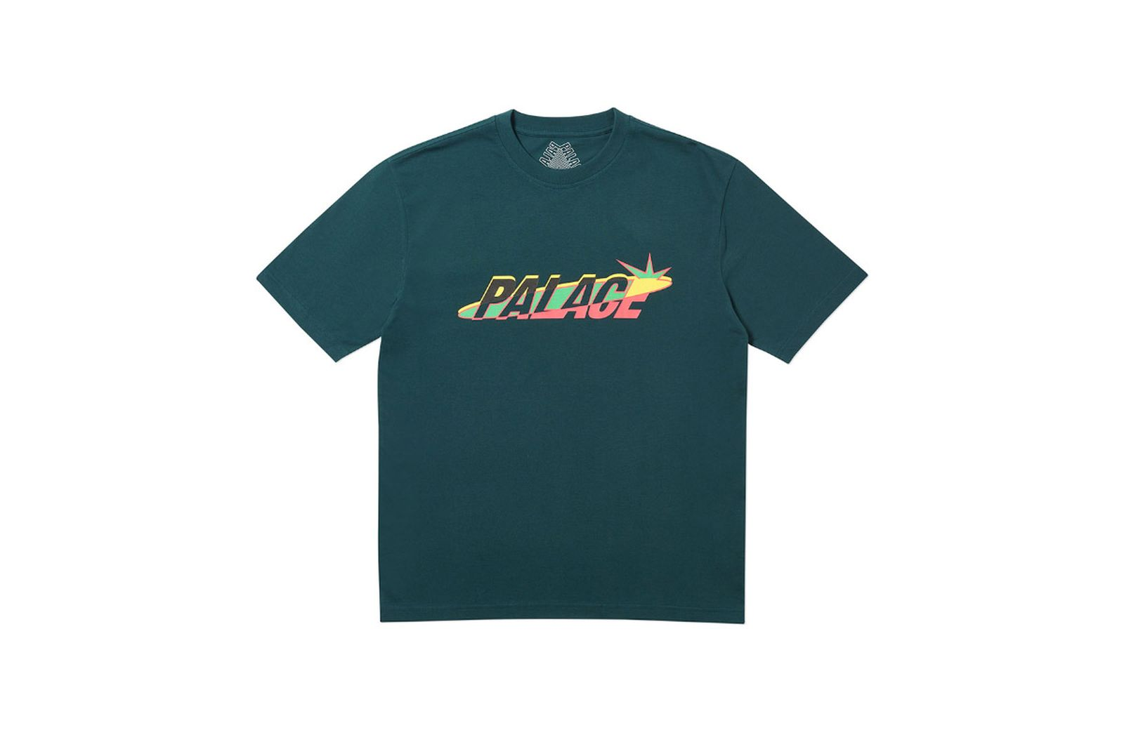 Palace 2019 Autumn T Shirt Lique green
