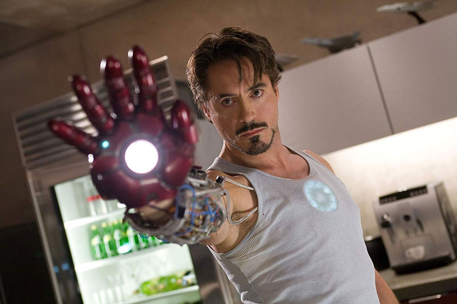 Robert Downey Jr. as Tony Stark in 'Iron Man'