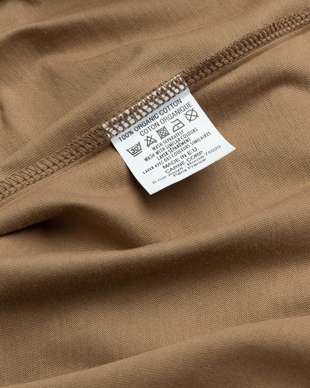 Carne Bollente – Lust Bound T-Shirt Brown - Image 5