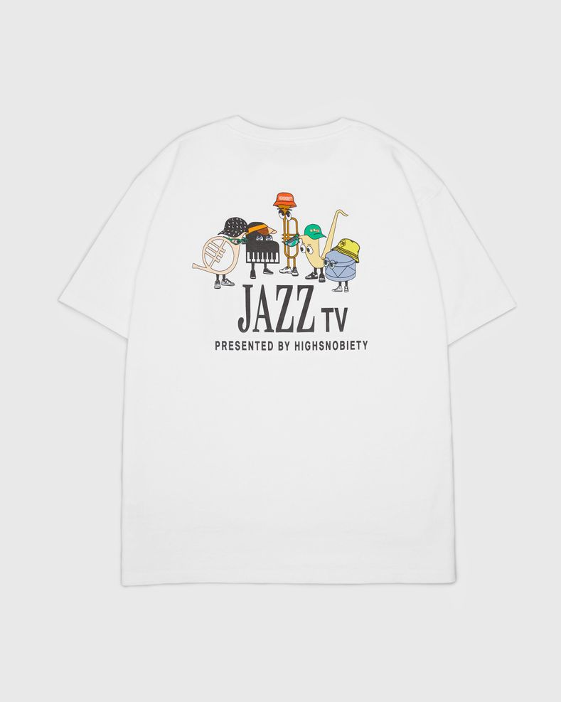 Highsnobiety — Jazz Ensemble T-Shirt White