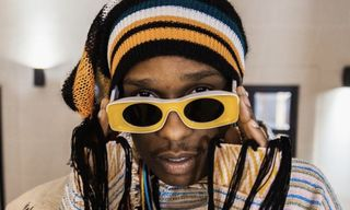A$AP Rocky Flexes in Loewe's Retro-Chic SS19 Sunglasses