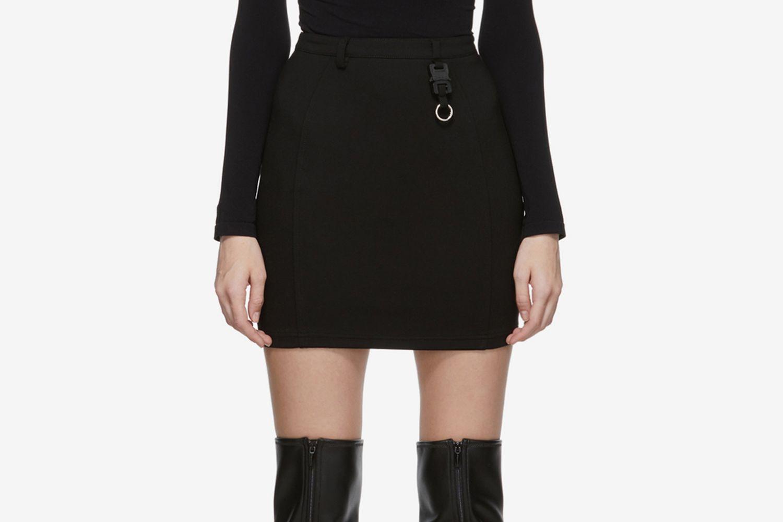 Dria Buckle Miniskirt