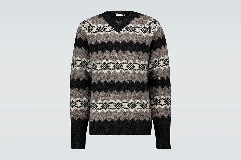 Raglan V-Neck Sweater